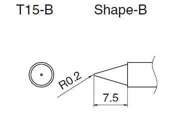T15-B soldering tip