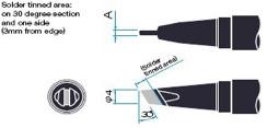 Japan Unix soldering tip P10DCN-R/P15DCN-R