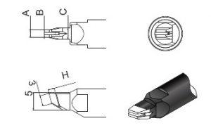 Quick Soldering Robot Tip 911G-N